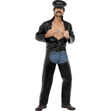 Village People Biker Kostyme