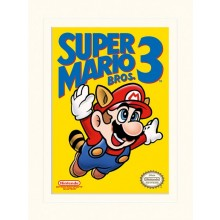 SUPER MARIO BROS. 3 (NES COVER) PLAKAT