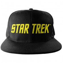 Star Trek Logo Snapback-Kaps
