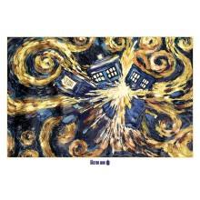 PLAKAT DOCTOR WHO (EXPLODING TARDIS)