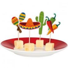 Bordpinne Mexico 12-Pakning