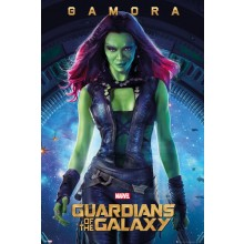 GUARDIANS OF THE GALAXY GAMORA PLAKAT