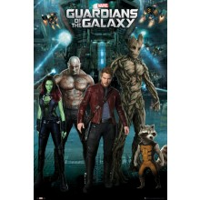 GUARDIANS OF THE GALAXY GROUP PLAKAT