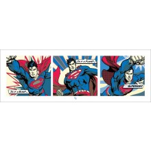 SUPERMAN (POP ART) 95X33 PLAKAT