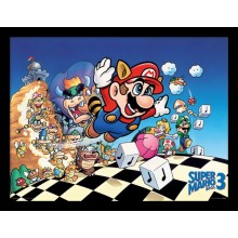 SUPER MARIO BROS. 3 (ART) PLAKAT