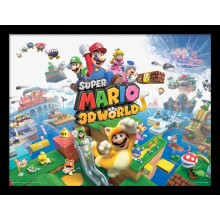 SUPER MARIO (3D WORLD) PLAKAT