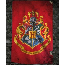 Harry Potter Poster Howarts Flagg