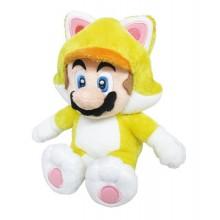 Nintendo - Cat Mario Kosedyr 25Cm