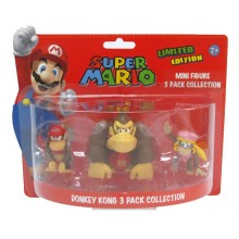 Nintendo Minifigurer Donkey Diddy Og Dixie Kong