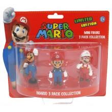 Nintendo Minifigurer Mario 3-Pack