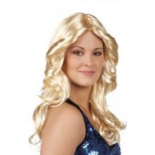 Parykk Blond Disco