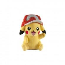 Pokemon kosedyr Pikachu med caps 25 cm