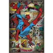 PLAKAT MARVEL COMICS (SPIDER-MAN RETRO)