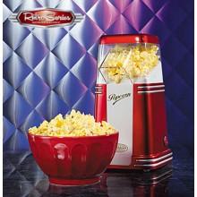 Popcornmaskin Retro Rød/Hvit