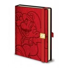 Super Mario Notatblokk A5 Innbundet
