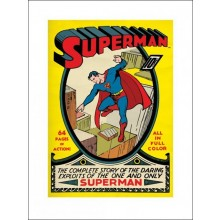 SUPERMAN (NO1) 60X80 PLAKAT