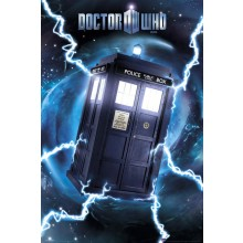 DR WHO - TARDIS FOLIE PLAKAT