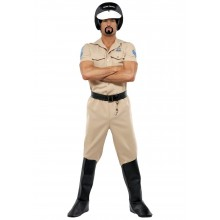 Village People Motorcycle Cop Kostyme