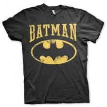 T-Skjorte Vintage Batman (Sort)