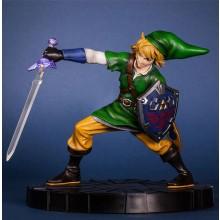 Zelda Link in action Figur 24cm