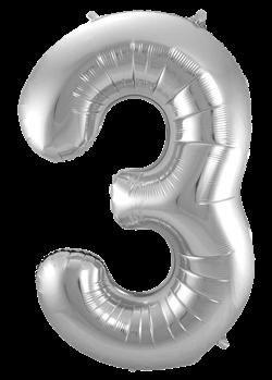 Jumbo Tallballong Sølv 3