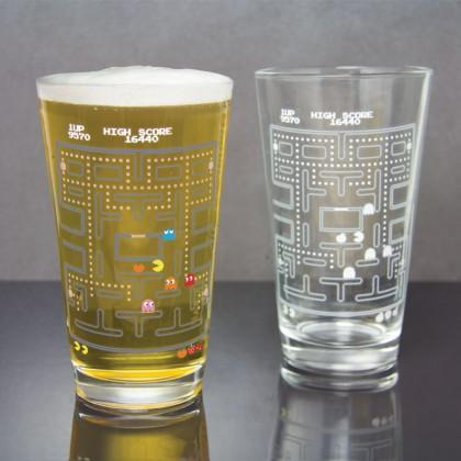 Pac-Man Fargeskiftende Glass