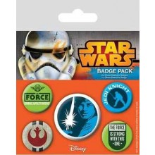 Star Wars Buttons Jedi 5-Pack