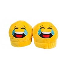 Emoji-tøfler