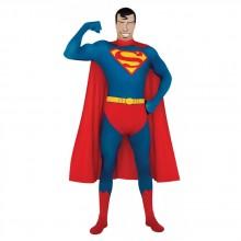 SUPERMAN TETTSITTENDE DRAKT