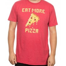 Eat More Pizza T-Skjorte
