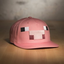 Minecraft Gris Snap Back Caps