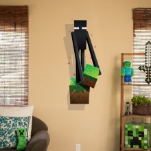 Minecraft Enderman Veggdekor