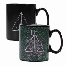 Harry Potter Deathly Hallows Varmefølsom Kopp