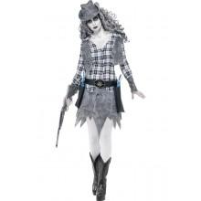 """""""Cowgirl""""-spøkelseskostyme"""