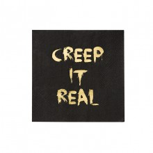 Servietter Barokk Creep It Real 16-pakning