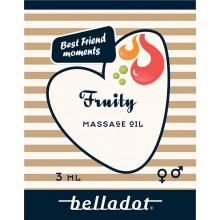 "Belladot Massageolja ""To Go"" Fruity"