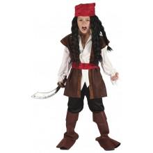 Kostyme Karibisk Pirat Barn