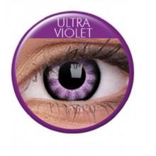 Fargede linser big eyes ultra violet