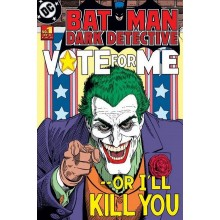 PLAKAT BATMAN - JOKER VOTE FOR ME