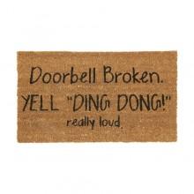 Dørmatte Doorbell Broken