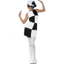 1960-talle Party Kostyme Dame