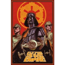 PLAKAT STAR WARS (FLY FOR GLORY)