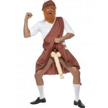 Kostyme Velutstyrt Highlander