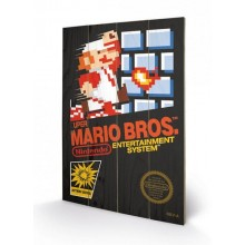 CANVASTRYKK SUPER MARIO BROS. (NES COVER)