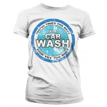 Breaking Bad A1A Car Wash Girly T-skjorte Hvit