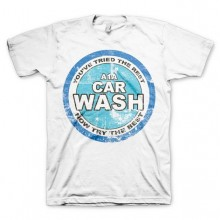 Breaking Bad A1A Car Wash T-skjorte Hvit