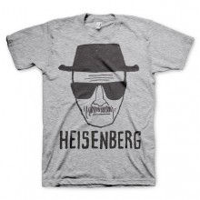 Breaking Bad Heisenberg Sketch T-skjorte Grå