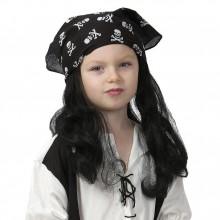 Parykk Barn Pirat