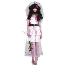Zombie Bride Karnevalskostyme