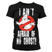 Ghostbusters I Ain´t Afraid T-skjorte Dame Svart